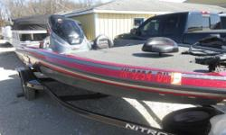 Price includes a Mercury 115 Pro XS Opti Max with manufacture warranty, Trail star trailer, spare tire,Stainless prop, Minnkota 55lb trolling motor, Humminbird fish locator up front and Lowrance Mark 5 at the helm. Price also includes a butt