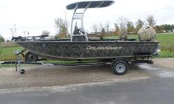 2015 Polar Kraft Outlander 186 CC When the weekend arrives, and it's time to run to your favorite fishing spot, the all-weather Outlander will get you there in reliable comfort and style. The boat's designed to increase stability, sharpen maneuverability