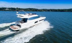 'A Frayed Knot' is an immaculate example of the very popular Prestige 500 Fly. She has all of the right options for cruising in utmost comfort and the owners have spared no expense in keeping her very well maintained.  Highlights of her specs include