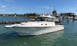 Whether cruising or fishing, this OS 385 is up to the task. She is outfitted with all of the right options, and has been lovingly taken care of by her knowledgeable owner. With a full detail, bottom paint, and engine service done November 2018, she is
