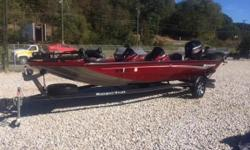 ThisRT188 Ranger® is built to be an angler's dream. It is equipped with a Mercury 115 ELPT 4 Stroke motor. Not only is it incredibly affordable but, with such strong attention to detail, this ultra-fishable, all-out fishing machine is built to be in