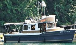 'GREY GOOSE' is one of the super popular command bridge Ranger Tugs.  This Trawler comes with all of the best in factory features plus additional owner added options on board. This vessel is the ideal size for the owner/operator with Northwest