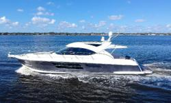 """Castle Way"" is extremely clean low hour well equipped 50 Riviera Sport Yacht. All engine services are up to date and her price was just reduced by $55,000. She features the more popular 2 staterooms plus optional lounge layout in lieu"
