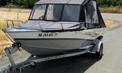 2015 Smoker-Craft 162 Pro Tracer 2015 Smoker-Craft American Angler 162 Pro Tracer 162 model in great condition All aluminum Walk through windshield live well Deck storage Swivel seats Combo depth and fish finder Custom heavy duty cover 50 HP