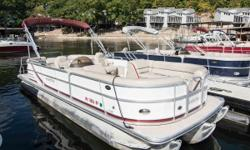 2015 South Bay 524 CPTR Mercury Verado 150 This boat has been used in our rental fleet, passing the savings along to you. Very clean and in excellent shape, boat has been run through service and fully inspected. Nominal Length: 25' Length Overall: 25'