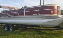 2012 South Bay 524E Tritoon Bar Boat 2012 South Bay 524E Tritoon Bar boat in great condition LED lighting all round and under the Deck Sits 12 to 14 people comfortably within as well! The Dual-Axle Trailer and all Life Jackets will be included - sizes are