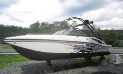 Pre-owned 2015 Starcraft 210 SCX Sport Crossover with 4.3L Mercruiser 250HP fuel injected i/o. Offered at season end clearance price. Includes balance of all manufacturer warranty! Like new! The 210 SCX has a lot of space for a 20ft boat with seating for