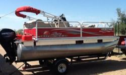 2015 Sun Tracker BB 16 Pontoon 2015 Sun Tracker BB 16 Pontoon in great condition 16 feet in overall length Has always been stored in a Garage space since owned Also comes with a Trolling motor a Fish Finder plus a covered Sun shade Equipped with a 40hp