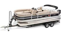 PRICE INCLUDES: MERCURY 115ELPT CT VINYL FLOOR SKI TOW FULL SNAP ON COVER MERCURY ENGINE WARRANTY TO 10/2017 There's so much new about the 2015 PARTY BARGE 22DLX! But the one thing that remains the same is the incredible level of comfort and entertainment