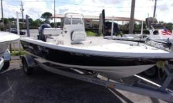 2015 Tidewater BayMax 1800.  This boat has a Yamaha 115, aluminum trailer, hydraulic steering, trolling motor, and gps/depth finder.  47 total hours. Nominal Length: 18' Length Overall: 18.2' Beam: 7 ft. 8 in.