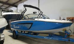FULL FACTORY WARRANTY!!! New boat warranty with a used boat price. This surf/wake/ski boat will not last long. Trades considered. CANVAS BIMINI TOP BOW COVER COCKPIT COVER DECK SKI TOW ELECTRICAL BALLAST SYSTEM (800 LBS) BATTERY (1) BATTERY SWITCH GPS