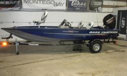 "2015 Tracker 175 Pro Team TF & ""Brand New"" 60HP Mercury 4-Stroke EFI Command Thrust Outboard Motor. Motor Comes With Mercury's Warrantyt! This 17' Tracker Fishing Boat Features, Front Casting Deck With Storage, Live Well, Movable Swivel Seat, 2 Travel"