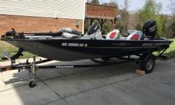 2015 Tracker Marine PRO TEAM 175 TXW Details- Always garaged Good condition 60HP Mercury 4 stroke Fish finder Trolling motor Live bait wells Well maintained Located in High Point NC Financing Nationwide Shipping And Warranties Available To Qualified