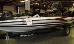 PRICE INCLUDES:2014 MERCURY 115 PRO XS, 15 TRITON TRAILER, 2- LOWRANCE ELITE 7 GPS, MOTORGUIDE 45# TROLLING MOTOR, MERCURY ENGINE WARRANTY TO 4/27/2020 - 2015 TRITON 179 TRX Nominal Length: 19' Engine(s): Fuel Type: Other Engine Type: Outboard Beam: 7 ft.