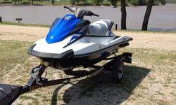 2015 Yamaha WaveRunner VX1100CP like new with only 27 hours. Purchased new last summer and upgraded to bigger boat so selling to make room in garage. Comes with 2016 Shorelander Trailer. 3 person capacity and tows well for water sports. 4-cylinder,