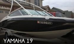 Actual Location: Lowell, IN - Stock #110258 - If you are in the market for a jet, look no further than this 2015 Yamaha AR 190, priced right at $32,300 (offers encouraged).This boat is located in Lowell, Indiana and is in great condition. She is also