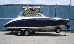 2015 Yamaha 242 Limited S *Twin 180 HP HO jet drives (360 HP) *Articulating Keel steering * Docking lights *Cruise assist with 3 position no wake mode * In floor Ski/wakeboard storage * Enclosed Head