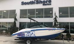 Enjoy some fun with your friends and family on this 19-foot jet boat! Complete with a wakeboard tower, ample seating, and extended swim platform. This is a great run about, good for a day at the sandbar, or for a quick trip to the islands.  Certified