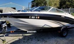 This boat is in excellent condition, with low engine hours. The number one selling runabout in the 19-foot category is packed with family-friendly amenities not found on competing boats. Key features include a roomy interior layout with extra