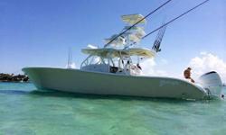 The 42 Yellowfin is the flagship model and Sanity Seakerwas custom built with all of the bells and whistles. Constantly updated and cared for this boat offers the perfect turnkey boat for the buyer who wants a new boat but does not want to