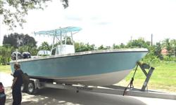 FOR QUESTIONS CONTACT: FRANK 954-931-1281 or boatsmk9@aol.com 1985/2016 Speedcraft 25 Center Console (Everything brand new within the last year) DETAILS: -Every single thing on this boat is brand new 2016 -Twin four stroke 150 mercury with 160 hours w/