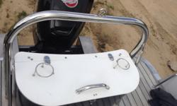 Boat comes with a Mercury 250 OPTI
