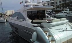 2016 Azimut 55S -- Pristine Vessel Delivered in July 2017 -- Still Under Full WarrantySpacious 3 Stateroom / 2 Head Layout + Crew Quarters -- Powered by Triple Volvo Diesels w/ 281 HoursLoaded with Upgrades: Advance Package, Deluxe Package, Painted Hull
