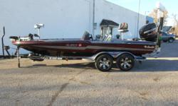 2016 Bass Cat Puma 20 bass boat equipped with Mercury 250 hp Pro XS outboard motor and Minn Kota Fortrex 24V trolling motor with 80 lbs. thrust. Boat includes strap cover, rear ladder, livewell, depth finder, hydraulic steering, battery charger, rod