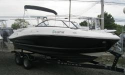 NEW INVENTORY 2016 Bayliner VR5 Bowrider This 2016 Bayliner VR5 is in mint condition w/ low hours & will not last, so please make an appointment to come see or an offer! This boat comes w: Mercruiser 4.3L  Karavan Bunk Trailer Bimini Top Full Canvas