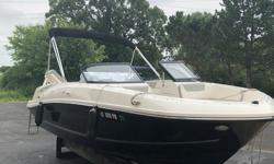 Check out this fresh 20-foot bow rider. This boat is one-owner and has been kept in inside our dry storage, which is heated during the winter. Included with this boat are: Upgraded soft grip flooring Quick release fender brackets Bimini top Bow and