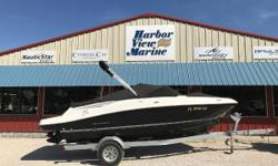 THIS SLIGHTLY USED 2016 BAYLINER VR5 builds on Bayliners proven V-bottom runabout heritage, while adding form AND function. The boat employs Bayliners category-leading BeamForward design, which carries the full 8 feet of beam further forward in the boat