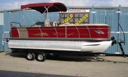 2016 Encore Boat Builders Bentley 223 Elite Rear Lounger Tri-Toon Yamaha 150 HP 4 stroke outboard with power tilt/trim * Yamaha Digital Guages * Under Deck Side Blue Lighting * Rear Blue Underwater Lights * Blue Cupholder & Speaker Lights * Lowrance Hook