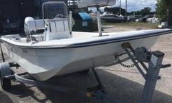 Located in our Ft Pierce location. Come on by to see the Bimini 157 an affordable fishing boat. Powered by a reliable Honda 50 HP. Easy to use, easy to tow and really easy to launch and trailer. Great starter boat for fun on the lakes, creeks and
