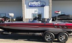2016 Charger 210 Elite DC, Evinrude 250hp ETEC G2, SS Prop, Hot Foot Throttle, Pro Trim, Bob's Hydraulic Jack Plate w/ Gauge, Custom Tandem Axle Bunk Trailer, Disc Brakes, Spare Tire, Swing Tongue, Bow Step w/ Handle, Ratchet Tie Downs, MinnKota 36v