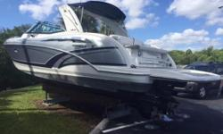 Loaded 2016 Formula 350 CBR ready to go!! Lowest priced 2016 350 CBR on the market! Only 83 hours on 8.2 MAG Engines Only 70 hours on the Kohler Generator Raymarine Hybrid Touchscreen Electronics Axius Joystick And much more Nominal