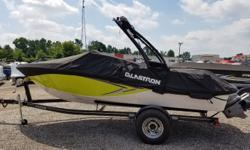 2016 Glastron GT185 with 225HP Volvo Penta V-6 and Trailer. Includes full custom Glastron mooring cover, wakeboard tower and digital depth gauge. For additional information call us today at 800-875-2620 and select the location nearest you or view