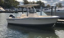 Fish Lake Erie on Grady-White's 209 Fisherman! The cockpit allows for ample fishing space and provides plenty of seating options for all of your guests. The enclosed head provides convenience and bulk storage. Certified Trade w/ Warranty Remaining
