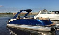 Luxurious boat loaded with options including entertainment bar with refrigerator, power arch, polished tubes, ski locker and JL Diamond Audio System. Engine under warranty until May 2021. Trades considered. CANVAS BIMINI TOP MOORING COVER DECK SKI TOW