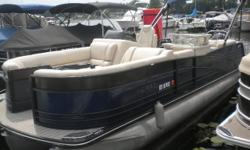 Selling this very well-equipped, 1-owner premium Harris Tri-Toon. With less than 30 hours on the boat/engine, you're getting a like-new boat for a drastically reduced price. Trades considered. CANVAS BIMINI TOP COCKPIT COVER (BLUE) DECK FENDERS & LINES