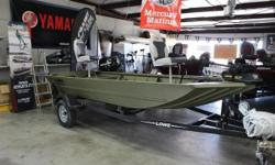 Check out this 2016 Lowe RX1546. It is powered by a 2010 Mercury F25ML. Sits on a 2016 Karavan Boat trailer. Options are: New Custom Full Boat Cover, Charger, Lowrance Elite 5, 2 Seats, Anchor, MK Fortrex 80# 24V Troller, Swing tongue for the trailer.