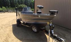 LOADED WITH SOME GREAT EQUIPMENT AND A MERCURY 9.9 KICKER--CALL FOR DETAILS The Lund 1875 Impact aluminum fishing boats are sure to make an impact on your walleye, muskie (musky), crappie, or bass fishing experience. Equipped to handle all your rods and