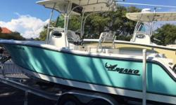2016 Mako 234CC with dual 150 HP Mercury outboards!  Includes EZ Loader custom trailer and Garmin GPS Map! Nominal Length: 23' Length Overall: .1' Engine(s): Fuel Type: Other Engine Type: Outboard Beam: 0 ft. 1 in. Stock number: 1022004