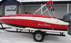 2016 NauticStar 203 SS SC Yamaha 115hp, 4-Stroke EFI, Custom Bunk Trailer, Brakes, Custom Snap-On Cover, Snap-In Carpet, Garmin Depth Finder A new generation of deck style boat is here. Beautiful styling and innovative design the 203 SC merges deck boat