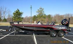 2016 Nitro Z20 with Mercury 200L Pro XS Opti with custom trailer!  Includes trolling motor, fish finder, and power pole! Nominal Length: 20' Engine(s): Fuel Type: Other Engine Type: Outboard Stock number: 963689
