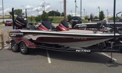 2016 Nitro Z20 with Mercury 225L ProXS TorqueMaster motor and trailer Nominal Length: 20' Engine(s): Fuel Type: Other Engine Type: Outboard