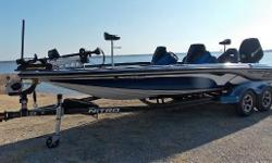 2016 Nitro Z21, beautiful blue-silver combo, Mercury 250 Pro XS-2 (262 hrs)garage kept, new batteries and 4 bank charger, Lowrance HDS 9s dash and bow,removable center seat, center tackle storage fan option, factory cover, tandemaxle