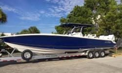 New to the market and ready for immediate delivery. Slightly pre-owned is the best way to describe this near perfect 390 Sport which has been stored indoors since new.Meticulously cared for which shows throught the boat. Loaded with all the options