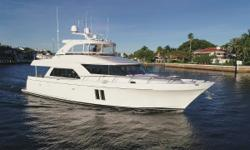 JOURNEY has spent the last couple of Summers in the North East and Winters in Fort Lauderdale. She has just completed the 1000 hour service on the engines in May 2018. The layout & open floor plan is great for entertaining and the large full beam