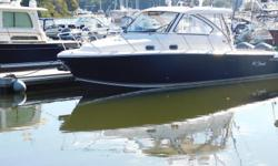 2016 Pursuit OS 325 Express CruiserThe Pursuit OS 325 Express Cruiser delivers innovation and excellence in the perfect sized package. A combination of finely engineered features designed with a timeless and elegant, yacht-like exterior. Her cabin