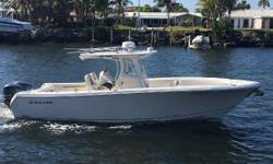 """Like New Versatile Quality Center Console The Sailfish 320 CC is a truly versatile fish and family boat, and built """"beyond competition"""" tough with Kevlar and carbon fiber reinforcement. This one year old beauty is in tremendous lift-kept and covered"""